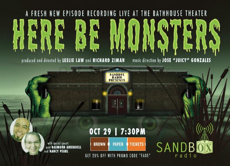 "Sandbox Radio Live | ""Here Be Monsters"""